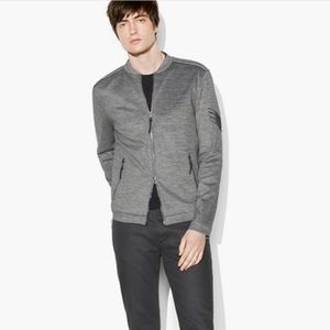 John Varvatos collection knit bomber. Size MEDIUM